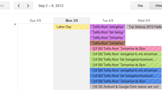 A mess of iCal Calendars and Events.